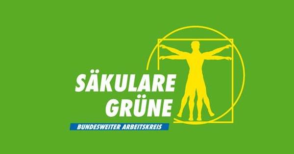 Säkulare Grüne Logo